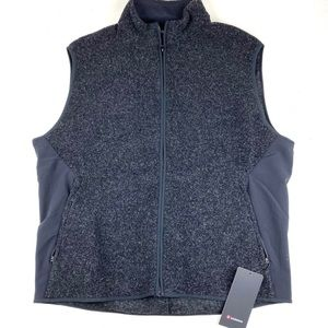 Lululemon men's tundra trek wool vest black 2XL